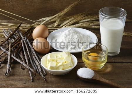 Preparing Dough - stock photo