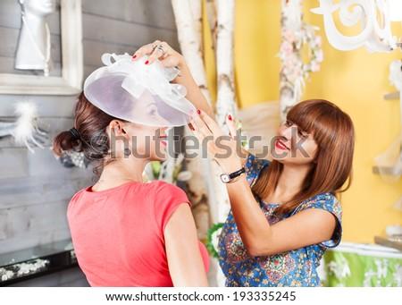 Preparing for a wedding - stock photo