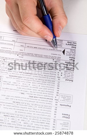 Preparing Taxes - Form 1040 for 2008