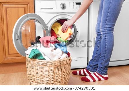 wash cycle in washing machine