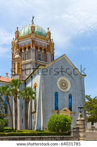 Presbyterian Church in St. Augustine Florida - stock photo