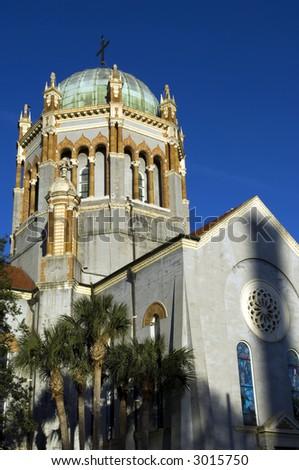 Presbyterian church, Saint Augustine, Florida - stock photo