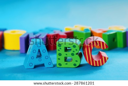 Preschool, Alphabet, Toy.