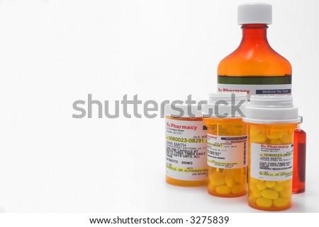 Prescription Medication - stock photo