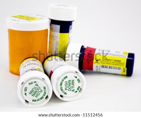 Prescription Medicines - stock photo