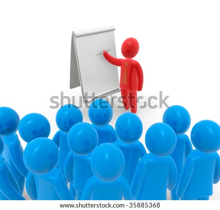 Presentation - stock photo