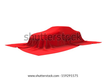 Presentation of the New Car - stock photo