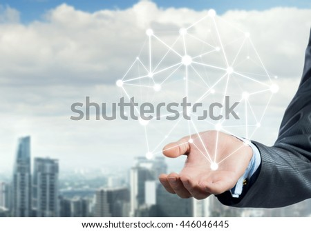 Presenting connection and interaction concept