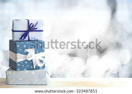presents - stock photo