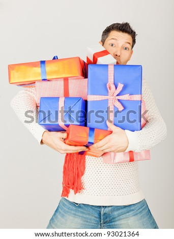presents - stock photo
