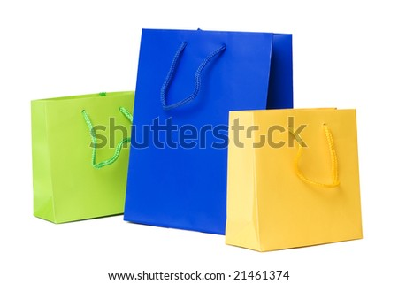 Presents or shopping bags