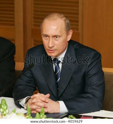 President of Russia Vladimir Putin - stock photo