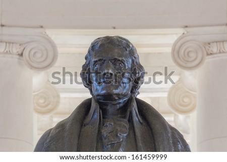 President Thomas Jefferson - stock photo