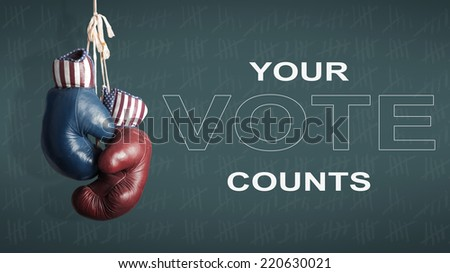 presidential Election Day in 2016 - stock photo