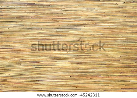 pressed bamboo board background - stock photo
