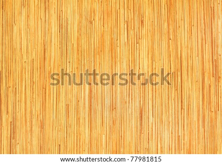 pressed bamboo board natural wooden background - stock photo