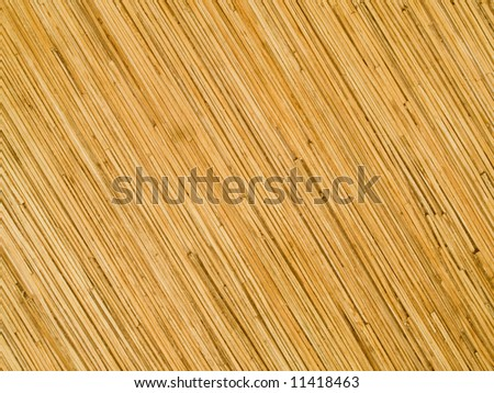 pressed bamboo textured board background - stock photo