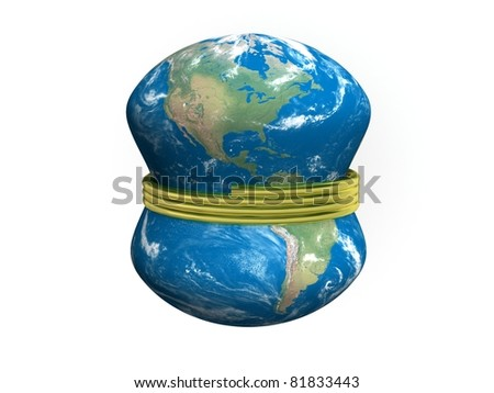 Pressed Earth by golden helix - stock photo