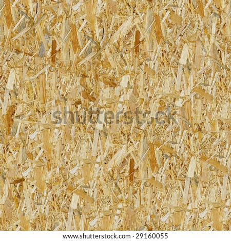 Pressed wooden panel seamless background. (See more seamless backgrounds in my portfolio). - stock photo