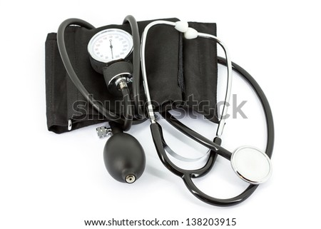 Pressure measurement - stock photo