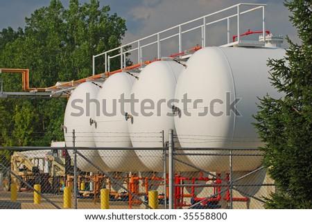 pressure tank - stock photo