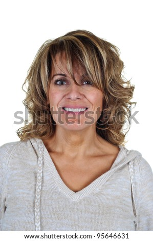 Pretty Middle Aged Woman
