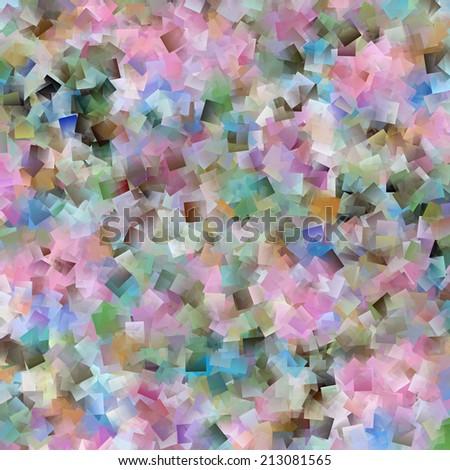 Pretty Pastel Abstract Design - stock photo