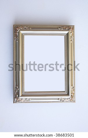 Pretty picture frame - stock photo