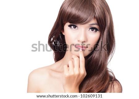 Мелирование азиатских волос
