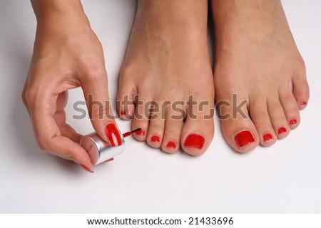 Beautiful Feet Fashion Sandals Stock Photo 15937870 Shutterstock
