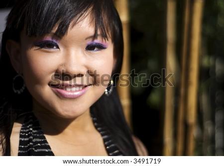 Pretty woman - stock photo
