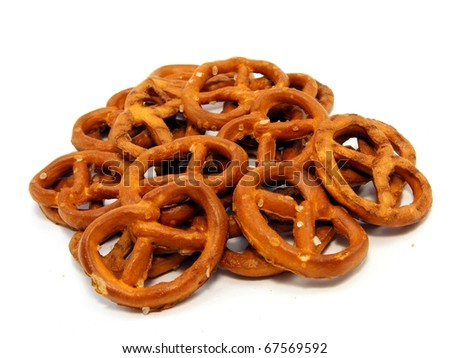 Pretzel Sticks - stock photo