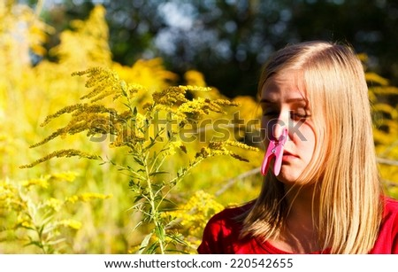 Ragweed Pollen Size of Ragweed Pollen Because