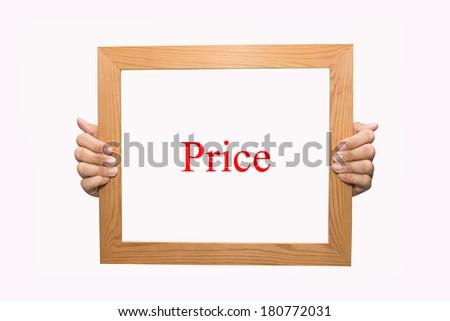 Price - stock photo