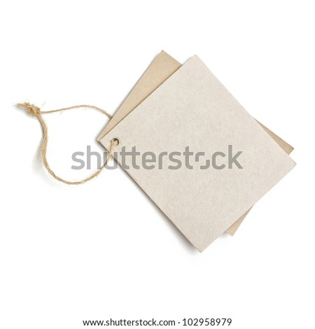 Price tags - stock photo