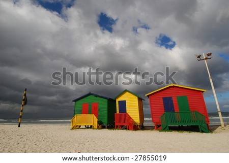 Primary Color Bathing Boxes