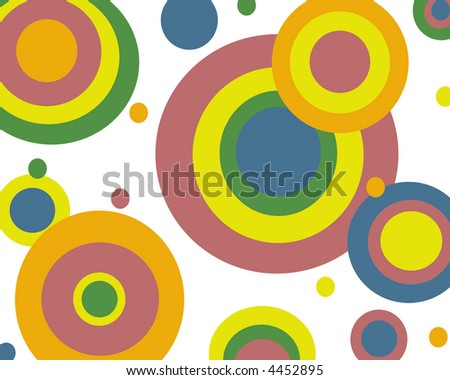 Primary colors circles