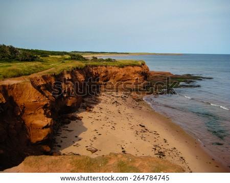 Prince Edward Island Coast - PEI, Canada - stock photo