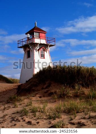 Prince Edward Island Lighthouse - stock photo