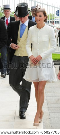 Prince Harry and Catherine, Duchess of Cambridge attending The Epsom Derby Meeting at Epsom Downs Racecourse in Surrey. 4th June 2011.  05/06/2011  Picture by: Simon Burchell / Featureflash - stock photo