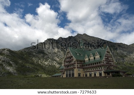 Prince of Wales Hotel - stock photo