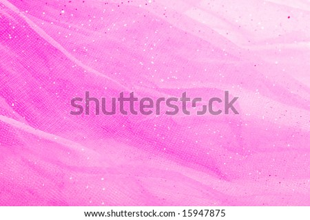 princess background.pink tulle - stock photo