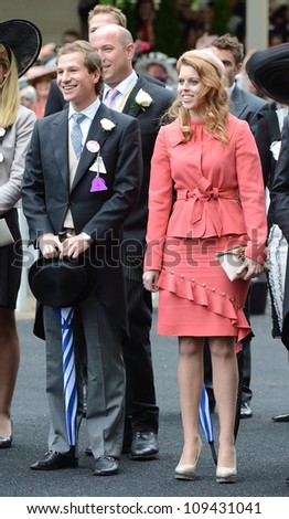 Princess Beatrice attends the final day of the annual Royal Ascot horse racing event, Ascot, UK. June 23, 2012. Picture: Catchlight Media / Featureflash