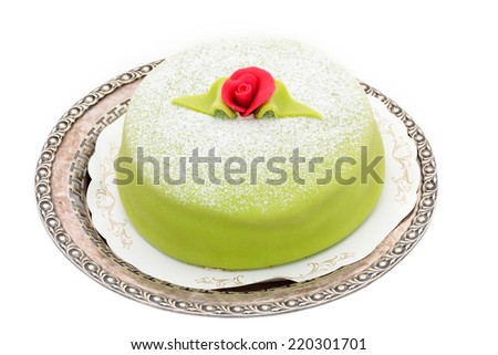 princess cake - stock photo