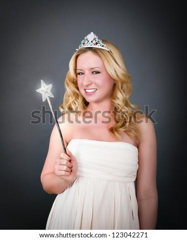 princess of fairy tale - stock photo