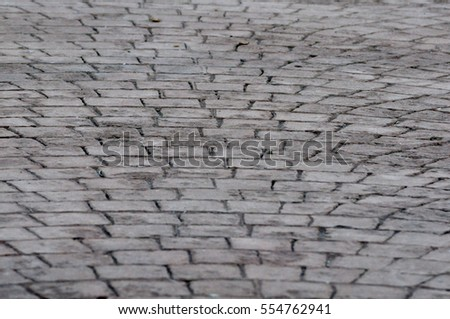 print concrete pavement