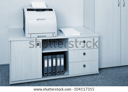 printer - stock photo