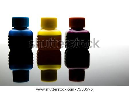 printer ink refill - stock photo