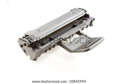 printer laser cartridge - stock photo