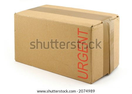 priority package - stock photo